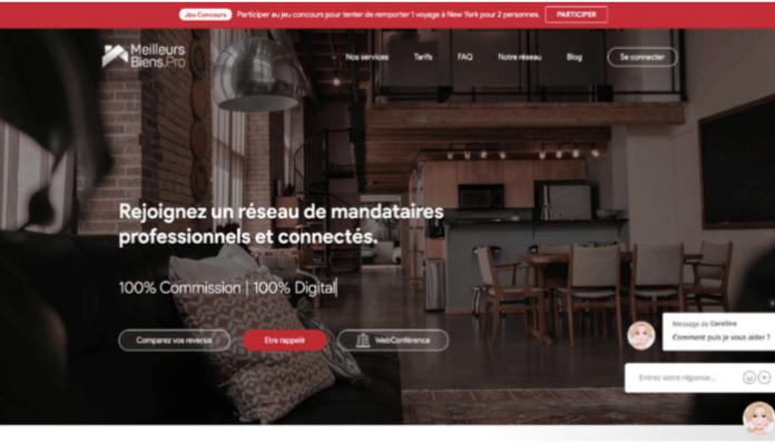 MeilleursBiens.com, un réseau 100% digital et novateur !